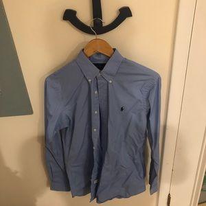 Polo Ralph Lauren Button Down Shirt Custom Fit